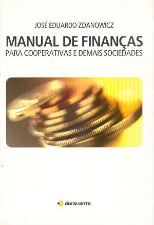 MANUAL DE FINACAS PARA COOPERATIVAS E DEMAIS SOCIEDADES