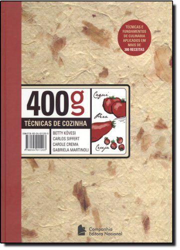 400g TECNICAS DE COZINHA