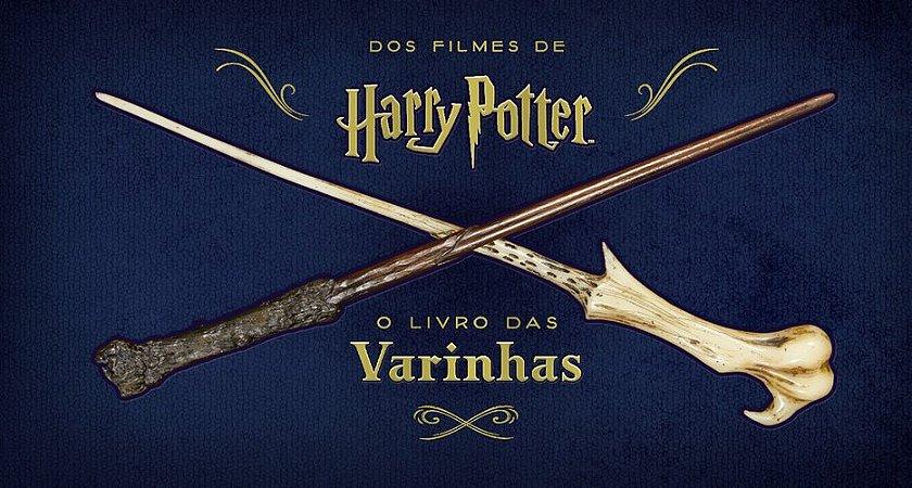 HARRY POTTER O LIVRO DAS VARINHAS