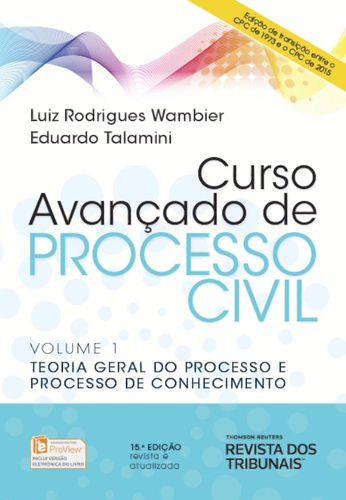 CURSO AVANCADO DE PROCESSO CIVIL VOLUME 1 TEORIA GERAL DP PR