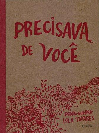 PRECISAVA DE VOCE- CAPA ROSA