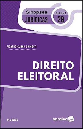 DIREITO ELEITORAL - SIN JUR 29 9ª ED