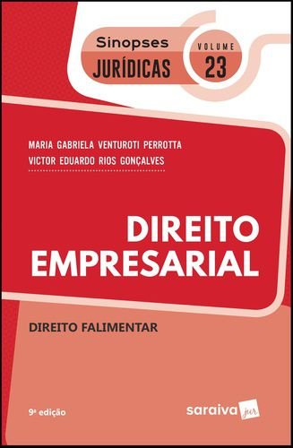 DIREITO EMPRESARIAL - SIN JUR 23 - DIREITO FALIMENTAR