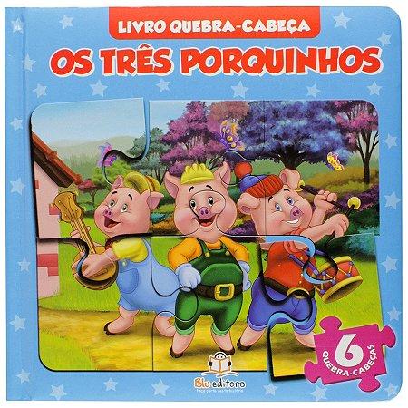 QUEBRA-CABECA - OS TRES PORQUINHOS