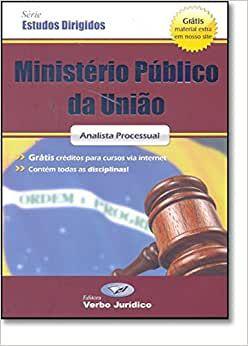 MINISTERIO PUBLICO DA UNIAO- ANALISTA PROCESSUAL
