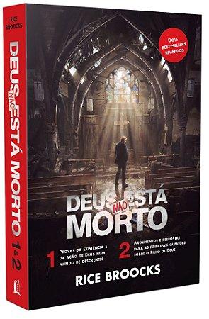 BOX DEUS NAO ESTA MORTO 1 E 2