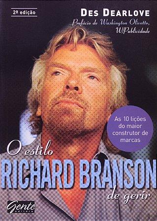 O ESTILO RICHARD BRANSON DE GERIR
