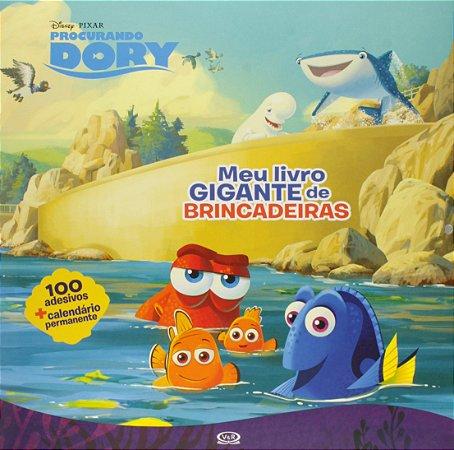PROCURANDO DORY: MEU LIVRO GIGANTE DE BRINCADEIRAS
