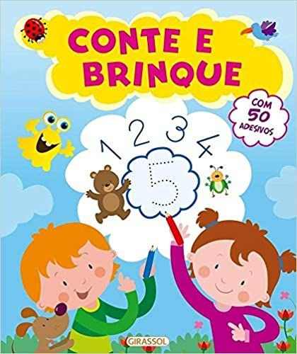 CONTE E BRINQUE - COM 50 ADESIVOS