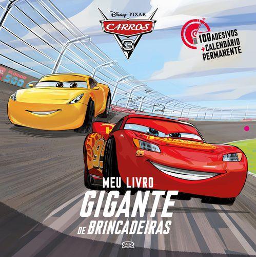 CARROS 3: MEU LIVRO GIGANTE DE BRINCADEIRAS