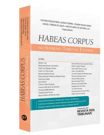 HABEAS CORPUS NO SUPREMO TRIBUNAL FEDERAL