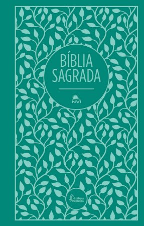 BIBLIA SAGRADA LEITURA PERFEITA CAPA TECIDO VERDE