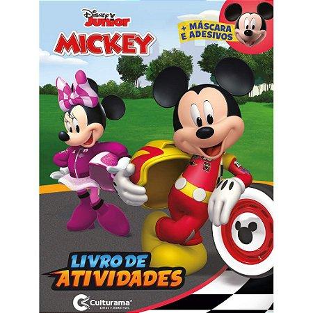 MICKEY - LIVRO DE ATIVIDADES MASCARA E ADESIVO