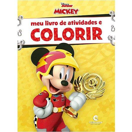 MEU LIVRO DE ATIVIDADES PARA COLORIR - MICKEY