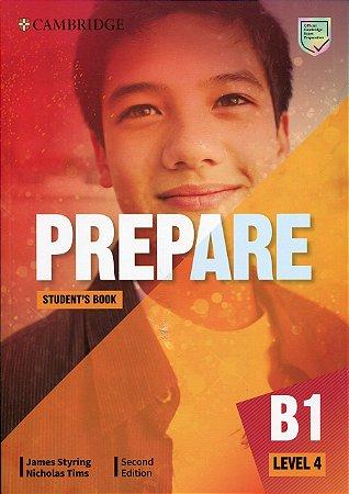 PREPARE STUDENT BOOK B1 LEVEL 4