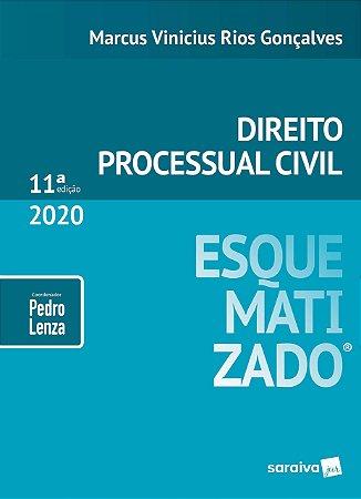 DIREITO PROCESSUAL CIVIL ESQUEMATIZADO - 11ED