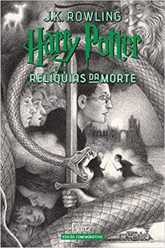 HARRY POTTER E AS RELIQUIAS DA MORTE - ED. COMEMORATIVA DE 20 ANOS