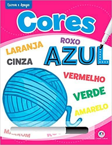 CORES - ESCREVA E APAGUE