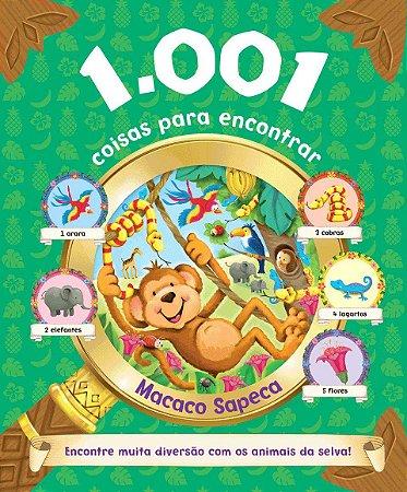 1001 COISAS PARA ENCONTRAR - MACACO SAPECA