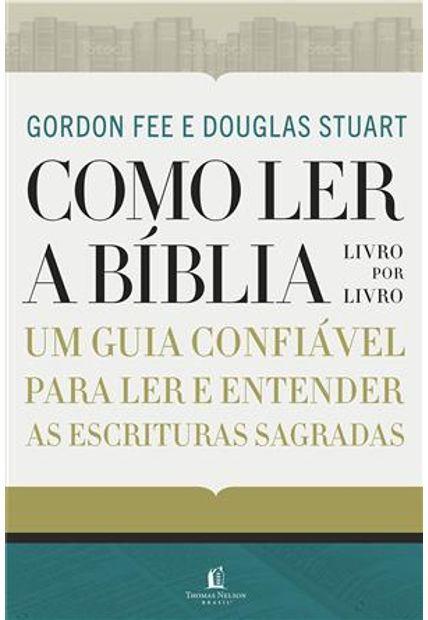 COMO LER A BIBLIA