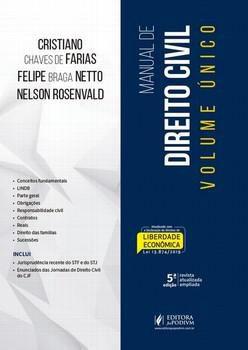 MANUAL DE DIREITO CIVIL VOLUME UNICO