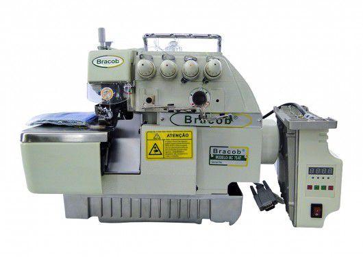 Máquina de Costura Industrial Overlock (5 Fios) Com Direct Drive Bracob BC75AT