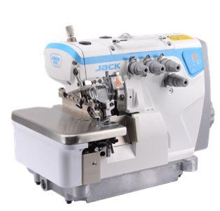 Máquina de Costura Ponto Cadeia Direct Drive JACK E4-4 (Ovelock 4 fios)