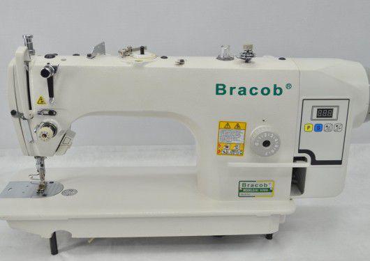 Máquina de Costura Industrial Reta Com Direct Drive Bracob BC 9100A
