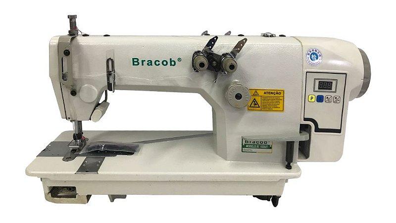 Maquina de Costura Ombro a Ombro (Reta 2 Agulhas ponto corrente) - Bracob