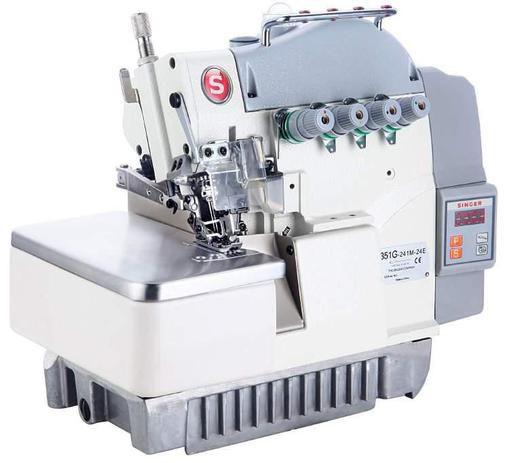 Máquina de Costura Ponto Cadeia Direct Drive - SINGER (Overlock 4 fios)