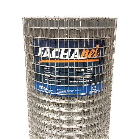 Tela Reboco FachaNet  25m (Fio 18 1,24mm / Malha 2,5cm)