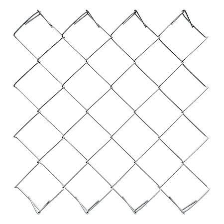 Tela Alambrado Simples fio 12 (2,77mm) rolo 20m