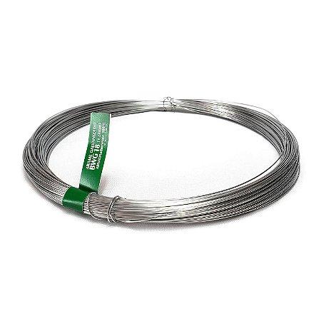Arame Galvanizado fio 18 (1,24mm) Rolo de 1kg (108m)