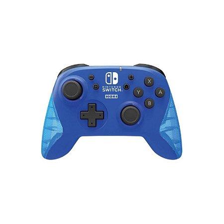 Controle Horipad Sem Fio Azul - Switch