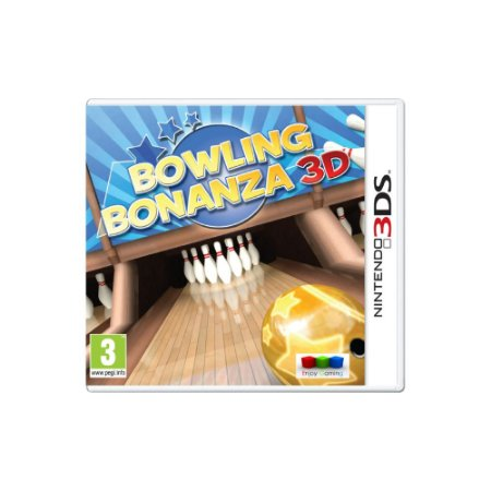Bowling Bonanza 3D - Usado - 3DS