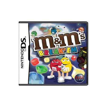 M&M's Break'Em - Usado - DS