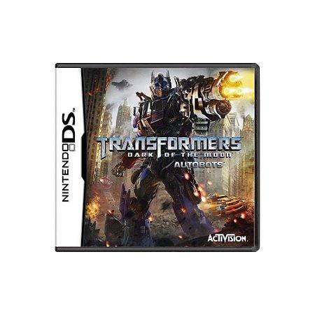 Transformers Dark of the Moon Autobots Sem Capa - Usado - DS