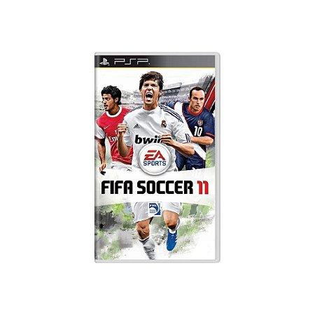 FIFA Soccer 11 - Usado - PSP