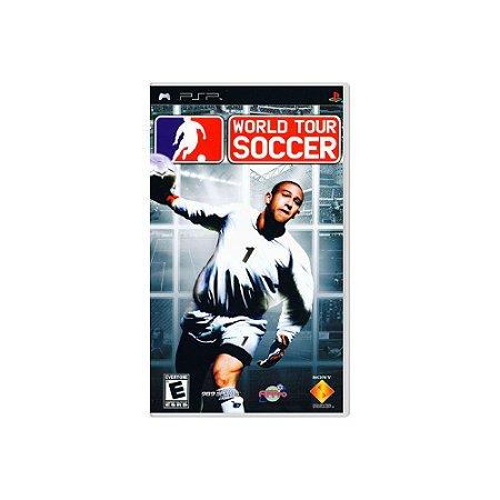 World Tour Soccer - Usado - PSP