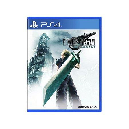 Final Fantasy VII Remake - Usado - PS4