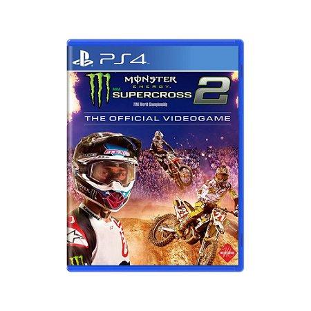 Monster Energy Supercross The Official Videogame 2 Usado PS4