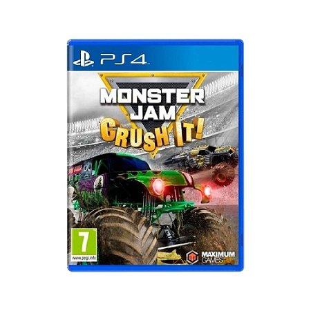Monster Jam: Crush It! - Usado - PS4
