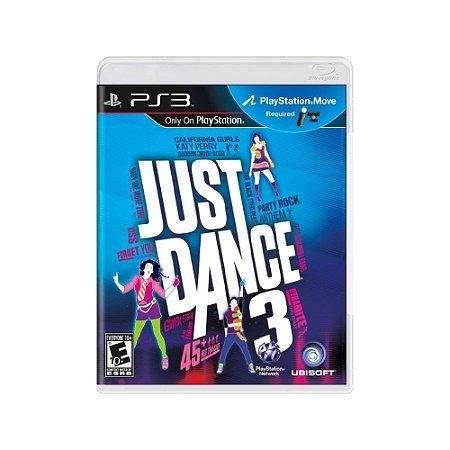 Just Dance 3 - Usado - PS3