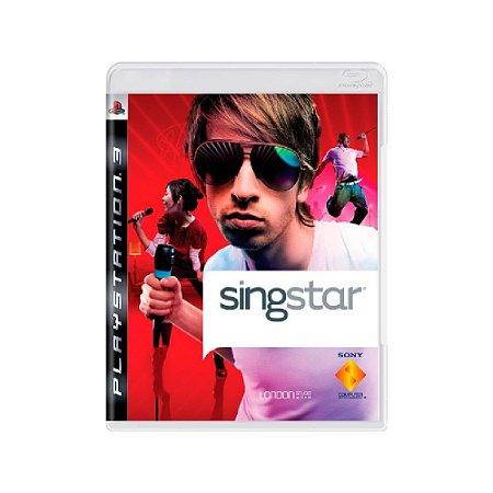 Singstar - Usado - PS3