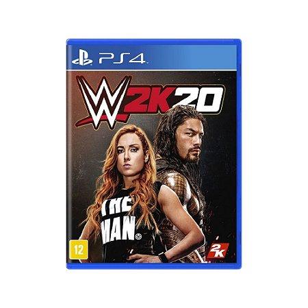 WWE 2K20 - Usado - PS4