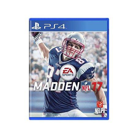 Madden NFL 17 - Usado - PS4