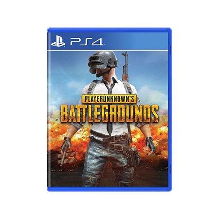 PlayerUnknown's Battlegrounds - Usado - PS4