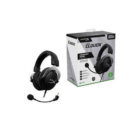 Headset Gamer Hyperx CloudX - HHSC2-CG-SL/G