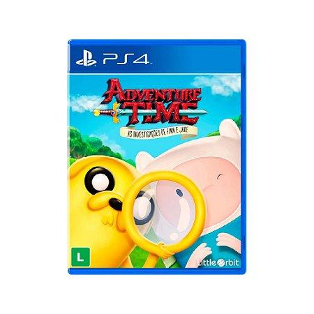Adventure Time As Investigações de Finn e Jake - Usado - PS4