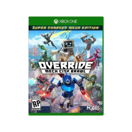 Override Mech City Brawl - Usado - Xbox One
